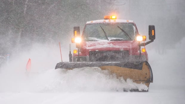 A major snowstorm is expected to fall in Montreal overnight Tuesday.