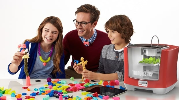 Mattel says the ThingMaker can be used to create toys like dolls, robots and dinosaurs, or wearable accessories such as bracelets and necklaces.