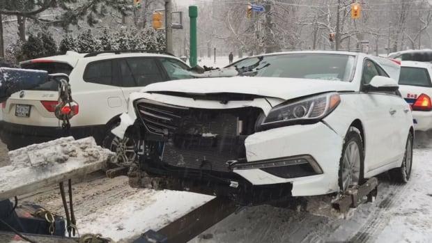 CAR crash weather