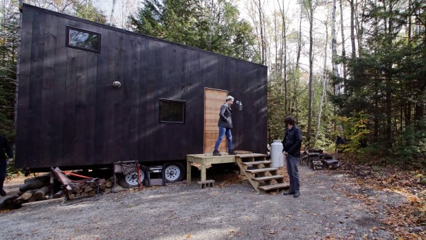 "The ""Getaway"" tiny house projects gives people a chance to taste what living  simpler means, says Pete Davis, the co-founder of the project."
