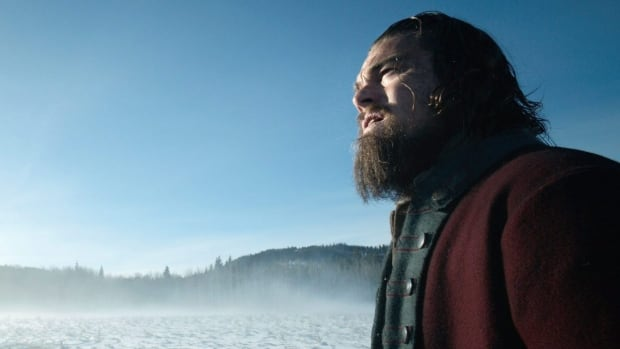 Leonardo DiCaprio looks over a frozen landscape in this still from The Revenant. The film was shot largely in Alberta, where local animal trainer John Scott had some unusual challenges to deal with.