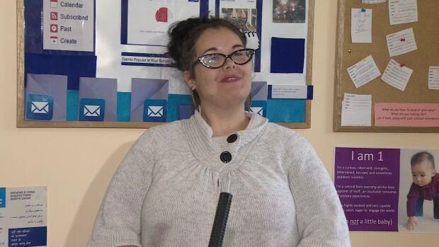 Amanda Nickerson accesses parenting programs through the Dartmouth Family Centre.