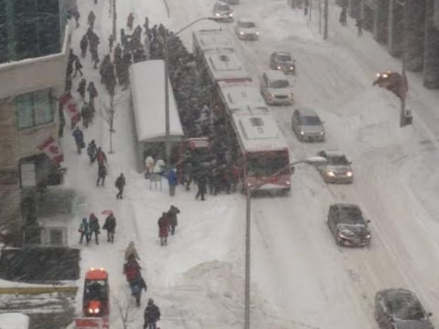 Schneesturm in Ottawa