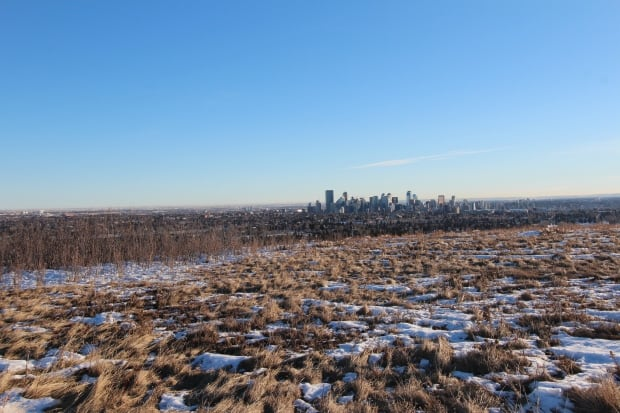 Nose Hill Park in Calgary