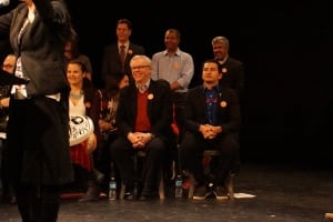 Wab Kinew nomination rally