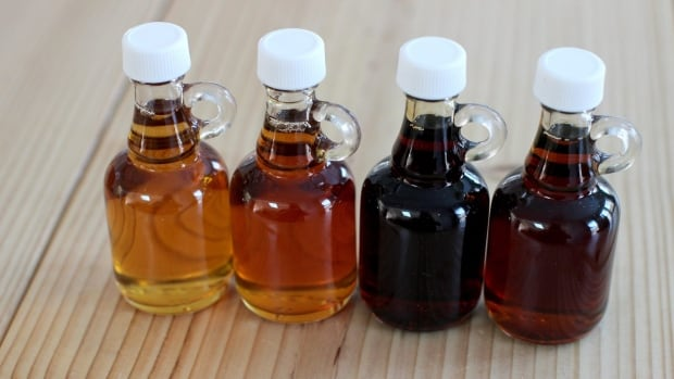 Real maple syrup is graded according to how much light passes through it, as well as its flavour and clarity.