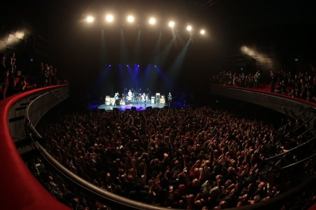 EODM back in Paris for Olympia show Feb 16 2016 packed house