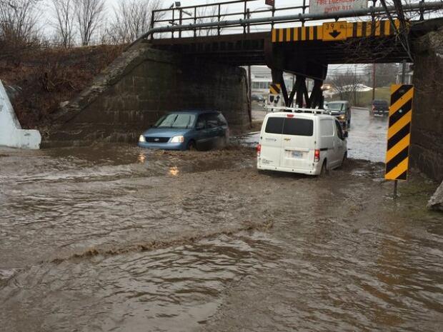 Flooding Bible Hill Feb 17, 2016
