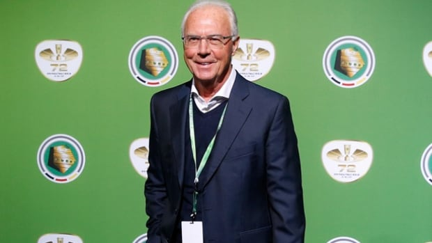 Arguably Germany's greatest ever soccer player, Franz Beckenbauer, 70, captained and coached West Germany to World Cup titles.