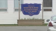 Whitbourne Elementary School sign
