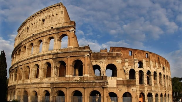The Roman Colosseum is being mentioned as a possible location in Rome's 2024 Olympic bid.