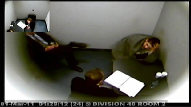 Thomas Brine interrogation video