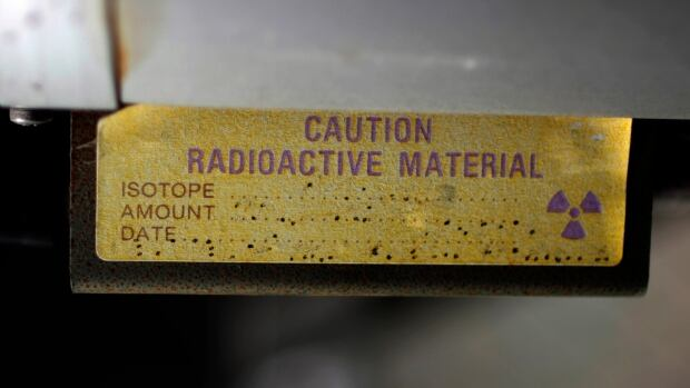 A sign indicating radioactive material is shown in Anaheim, Calif., in March 2011. Iraq is searching for 'highly dangerous' radioactive material stolen last year, according to an environment ministry document and security officials.