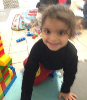 Syrian refugee child, Edmonton
