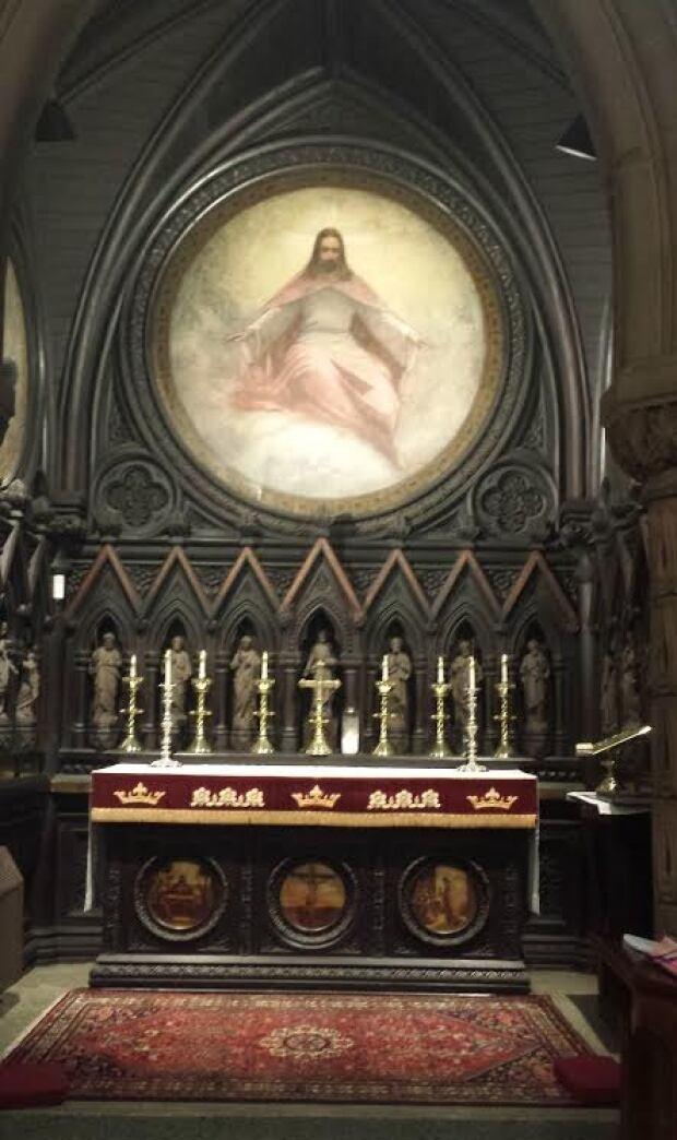 All Souls' Chapel Altar