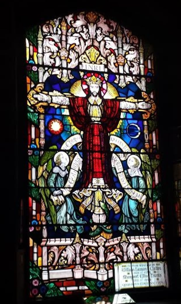 Stained glass window, All Souls' Chapel Charlottetown
