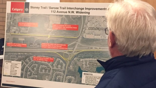 Residents gathered to air their concerns on the heavy use of an interchange in the city's northwest on Wednesday. City transportation personnel held an open house information session for residents to see the proposed changes.