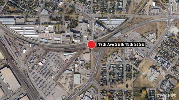Calgary Inglewood Train Derailment