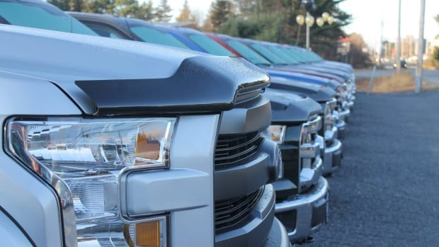 Valley Ford in Kentville is seeing a big increase in American demand for used Canadian trucks and SUVs. It's selling eight to 10 vehicles a month to the U.S.