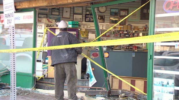'It's unbelievable that nobody was killed here,' said Arch Adams, owner of the Vacuum Hut.