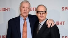 Walter Robinson and Michael Keaton