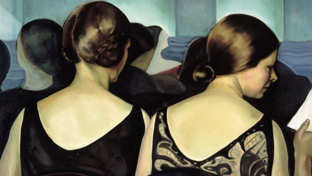 Prudence Heward (1896-1947); At The Theatre, 1928; Oil on canvas