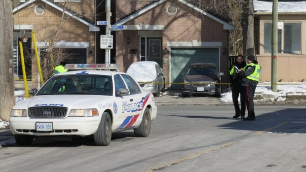 Toronto police are investigating at Dawes Road and Secord Avenue after a woman was struck by a vehicle and sent to hospital with life threatening injuries on Thursday.