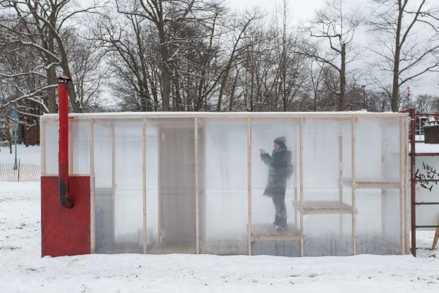 winter stations sauna