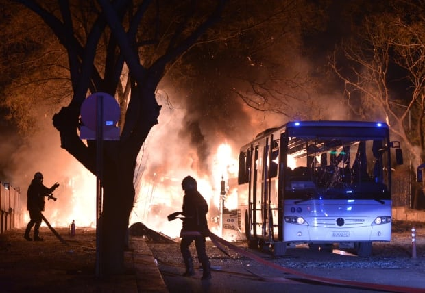 TURKEY ANKARA EXPLOSION