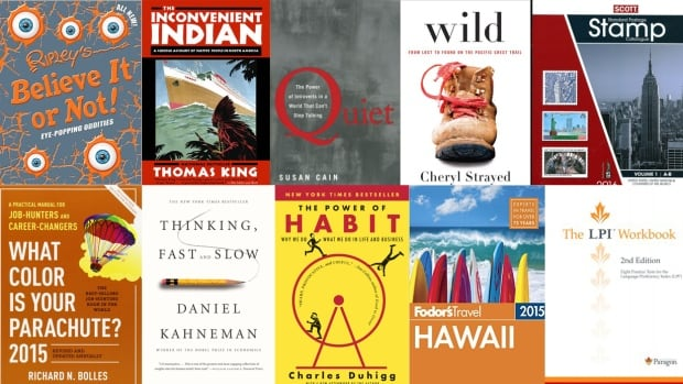 The Vancouver Public Library's most checked-out non-fiction books of 2015 reveal a broad array of interests.