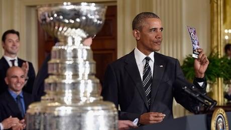 Trudeau, Obama Trade Zingers Over Hockey Success