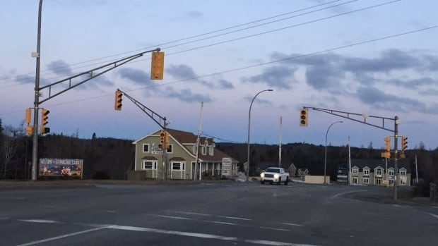 The traffic lights are out in parts of Tantallon this morning.
