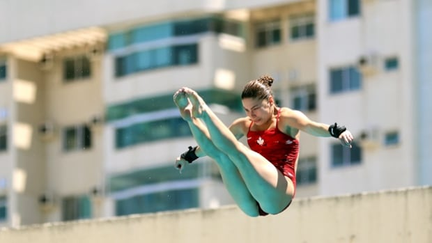 Roseline Filion is returning to competition at the diving World Cup in Rio de Janeiro on Saturday. The event is also a test event for the 2016 Rio Olympics.