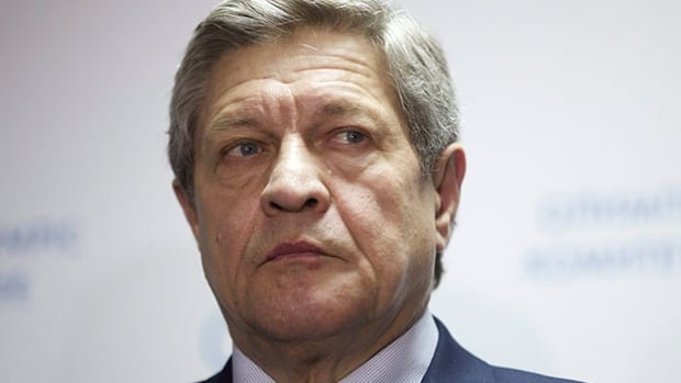 Gennady Alyoshin, who chairs a taskforce created to clean up doping in Russia, seen here in November 2015, said Friday he believes athletes in the country who test positive for banned substances in the future should face criminal charges.