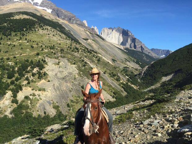 Veda Roberge Torres del Paine