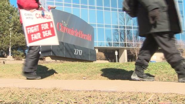 Chronicle Herald strike
