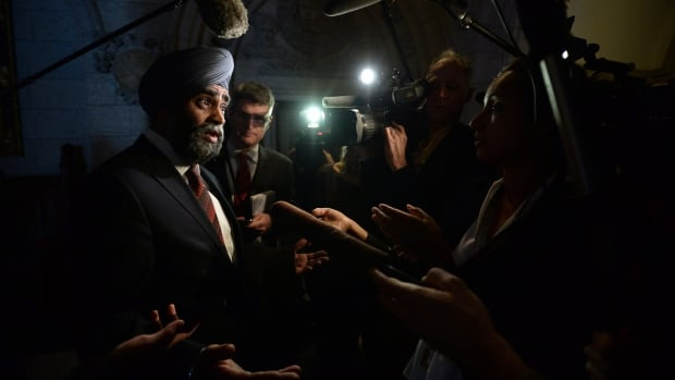 "Defence Minister Harjit Sajjan says ""what's done is done"" when it comes to the former Conservative government's deep cuts to defence spending in 2012."