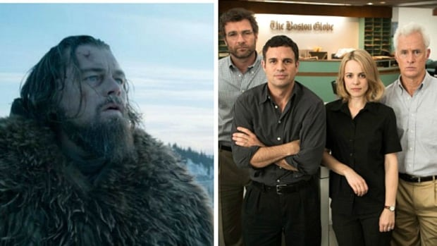 St. Andrew's-Wesley United Church is launching a sermon series on Oscar-nominated films including The Revenant and Inside Out