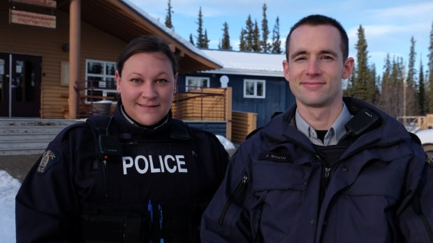 Whitehorse RCMP constables Kerry Jury and Jordan Booth have been stationed at the Kwanlin Dün First Nation since the start of the year.