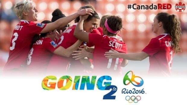 The Canadian women's soccer team in heading to Rio for the 2016 Olympics thanks to two goals by veteran player, Christine Sinclair.