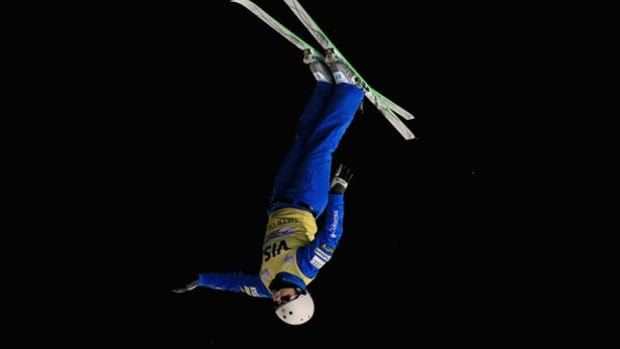 American freestyle skier Ashley Caldwell, shown in an earlier World Cup event, wrapped up her first aerials season title with a victory in the World Cup event in Minsk, Belarus.