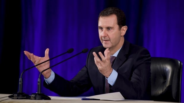 Syria's President Bashar al-Assad says he's ready for a ceasefire, provided certain conditions are met.