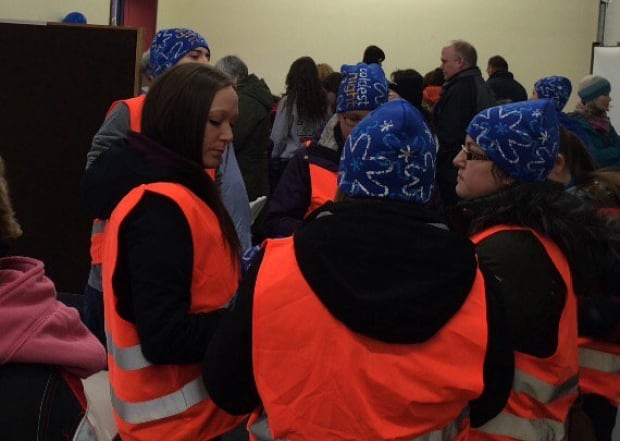 Truro volunteers at Coldest Night of the Year
