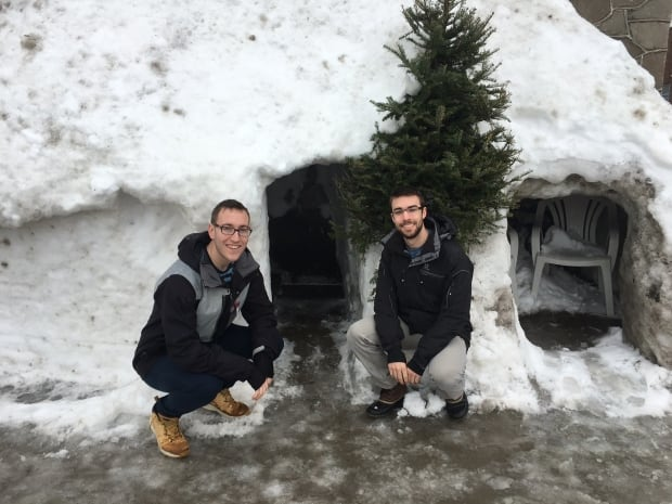 Sean Wilson Patrick Ronayne Snow Porch