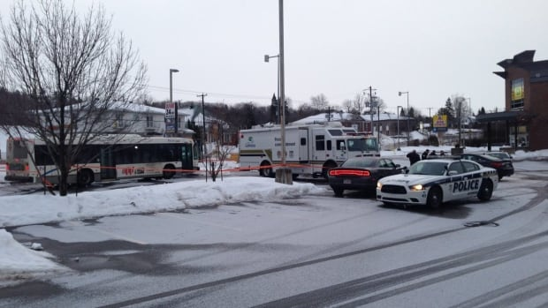 Gatineau police have set up a security perimeter on Cartier Street, where a man was shot overnight at a private party.