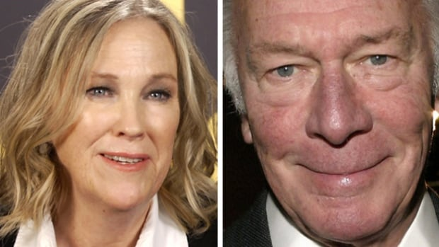 Catherine O'Hara and Christopher Plummer were among the winners at Saturday's ACTRA Toronto Awards, taking prizes for their work in Schitt's Creek and Remember, respectively.
