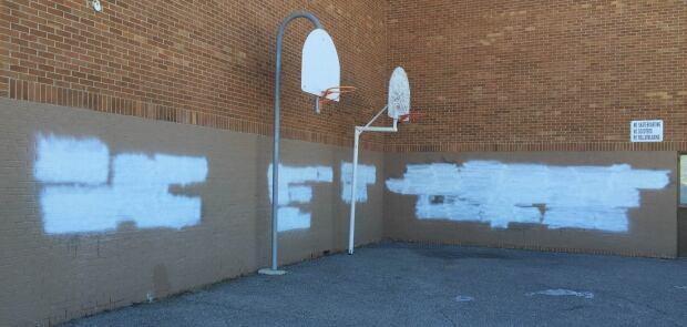 Wilma Hansen graffiti