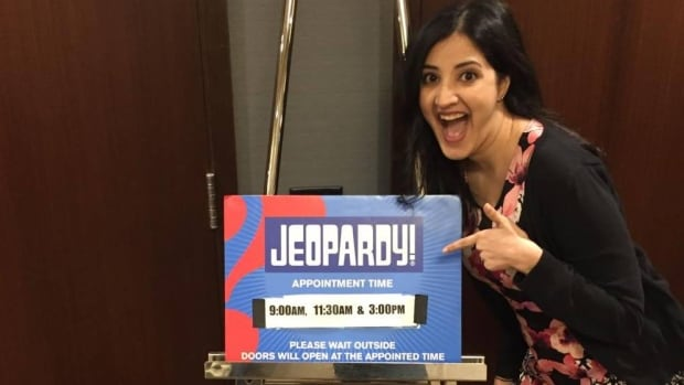Lifelong Jeopardy devotee Chandni Kher, of Vancouver, at her long-awaited audition in Seattle. If she doesn't get called for a show taping in the next 18 months, that could be the end of her journey.