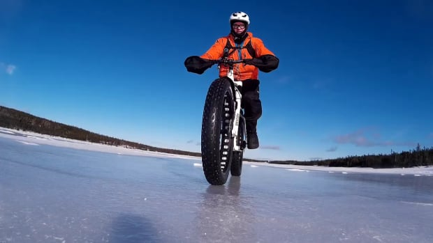 Loyal Squires started riding a fat bike about 3 years ago in St. John's. According to Gary Moore, Squires is the one to thank for the surge in popularity.