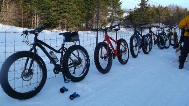 Gary Moore was immediately sold on a fat bike once he realized he would never have to put an end to his cycle season.